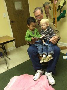 Dale in nursery