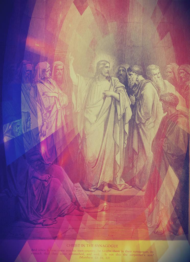 Dore+Jesus teaching