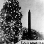 The National Christmas Tree, 1941, when Churchill addressed the American nation from the White House.