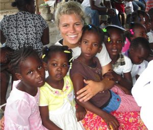 Finding young friends in Haiti