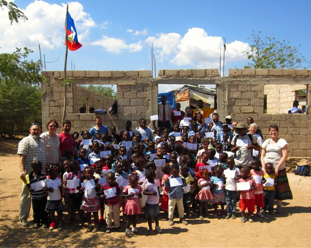 Participants in a recent short-term mission to Haiti