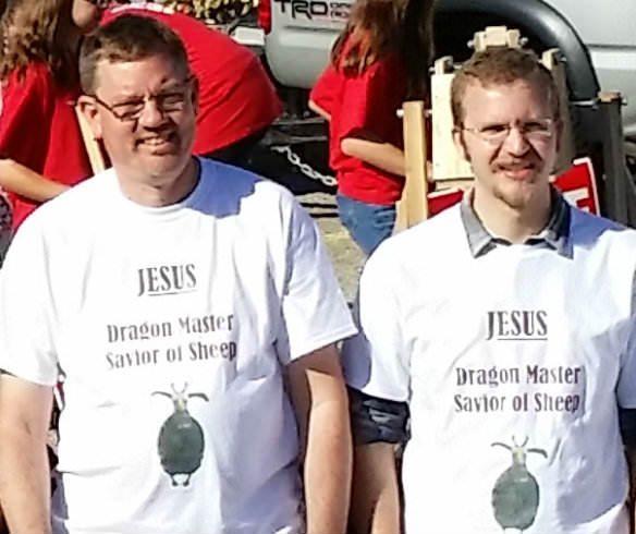 2014 Kentwood July 4th Carnival - CROPPED Closeup of t-shirts