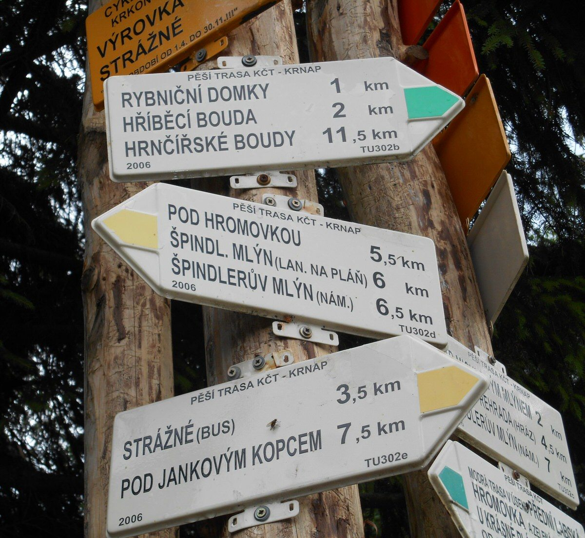 2014 Team Praha - Czech street signs - photo from Kathleen Winslow
