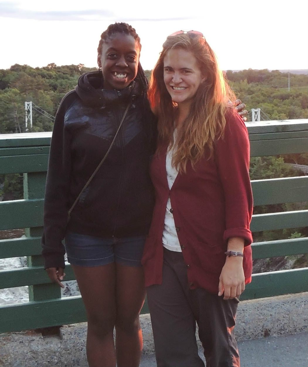 2015 Quebec E4K Suzy and Jennifer CROPPED photo from Jennifer Nelson