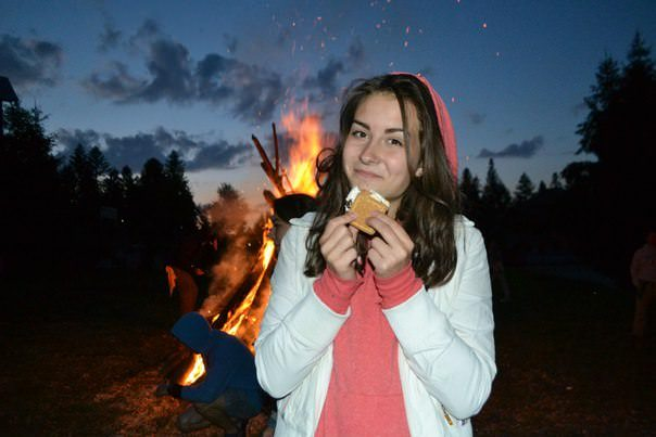 2015 Ukraine - campfire girl