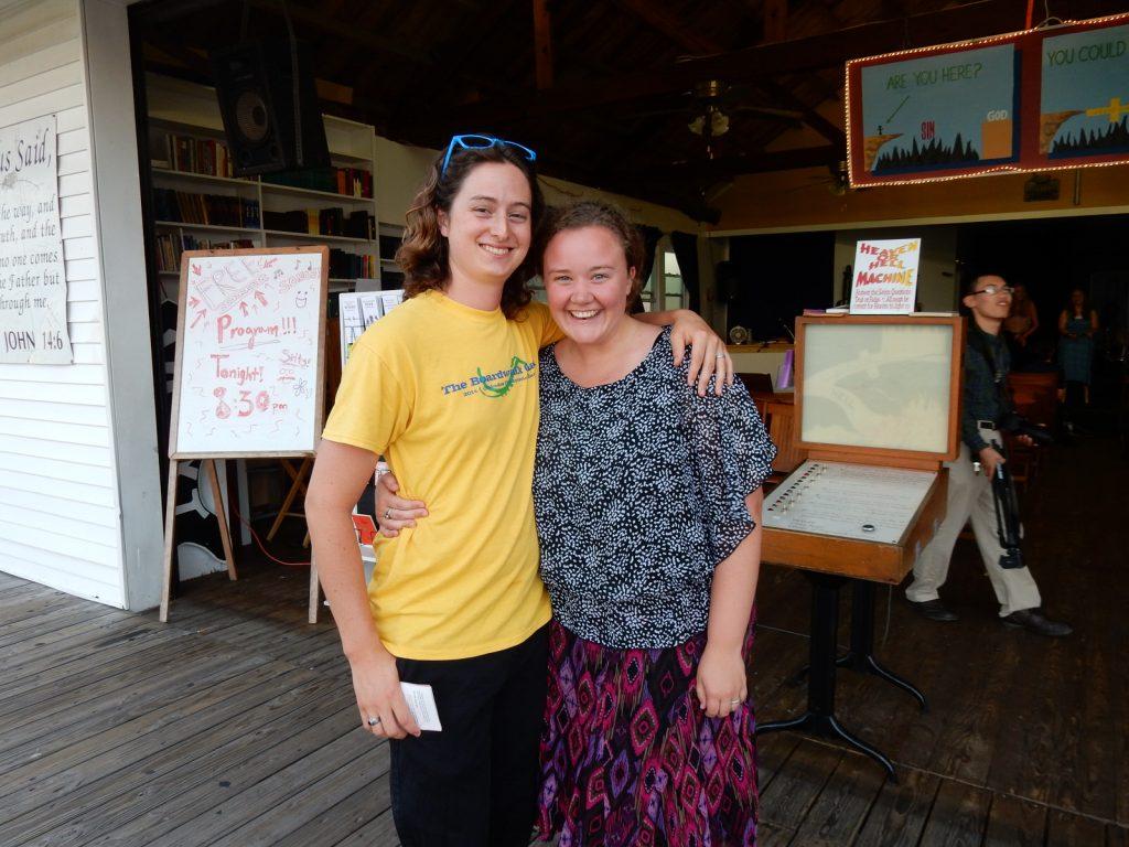 Isaiah and Calli-jade English, Boardwalk Chapel 2015, photo by Janet B.