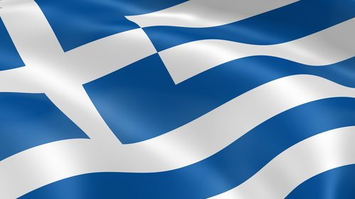 Greece flag - photo from Deposit Photo