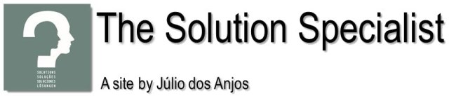 Julio dos Anjos, the Solution Specialist