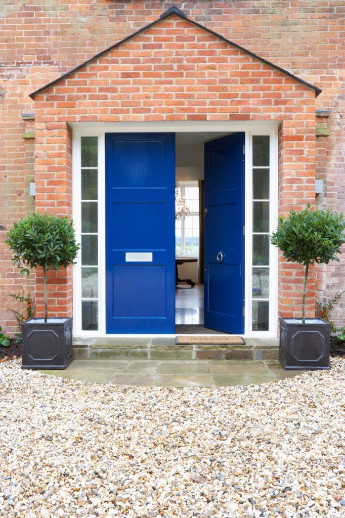 Front Door Of Modern House