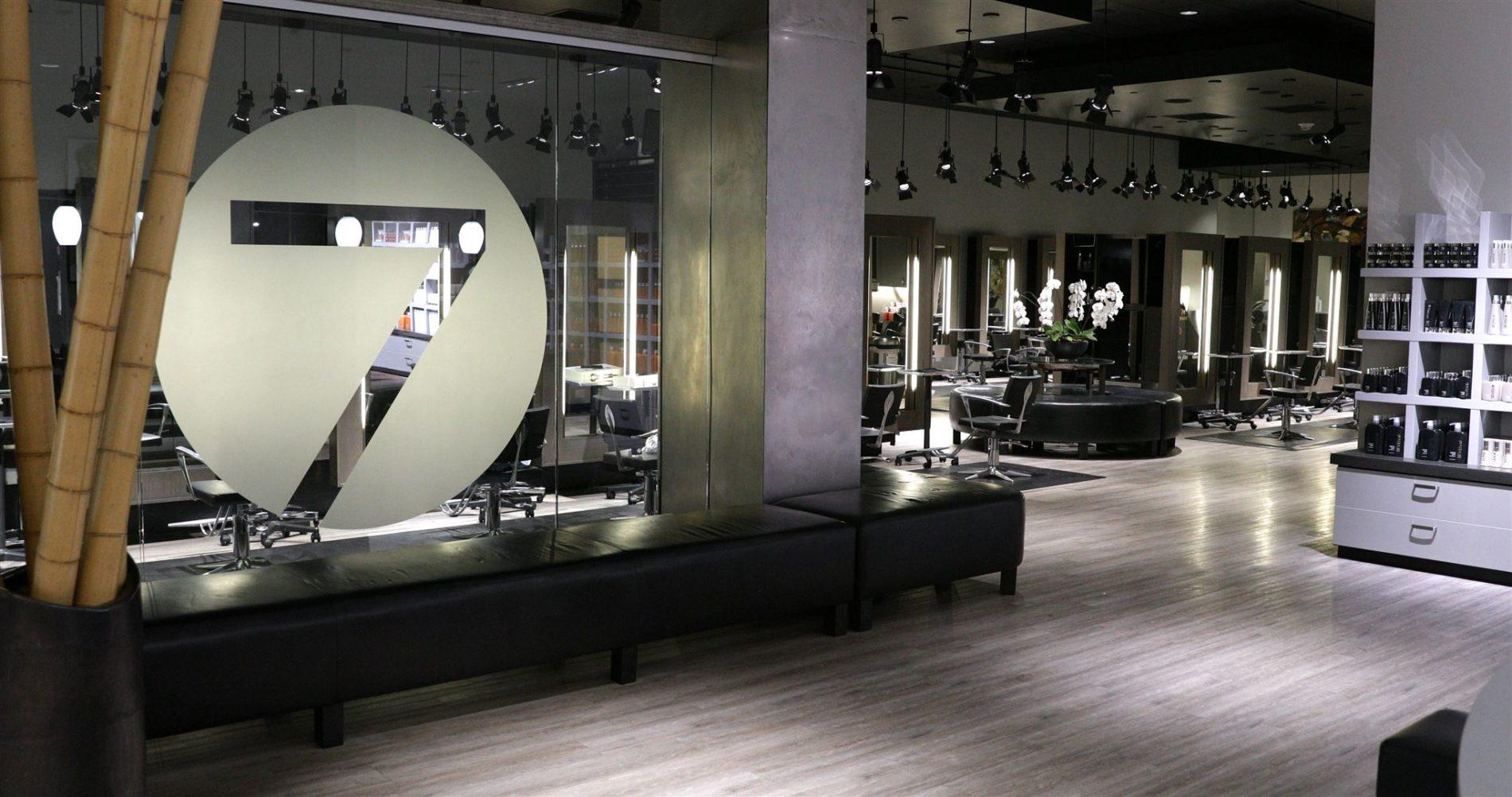 salon empty because of corona virus shutdown