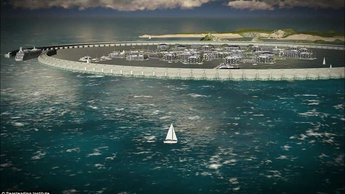 "Plans For World's First ""Floating City"""