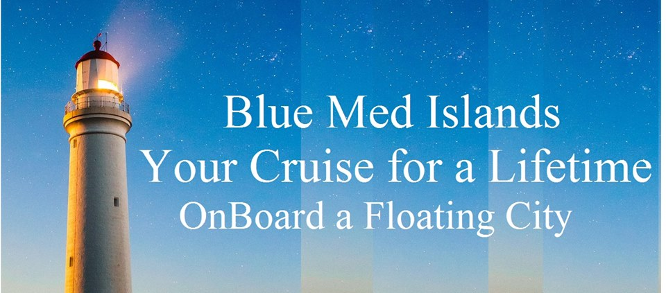 Blue Med Islands Floating City