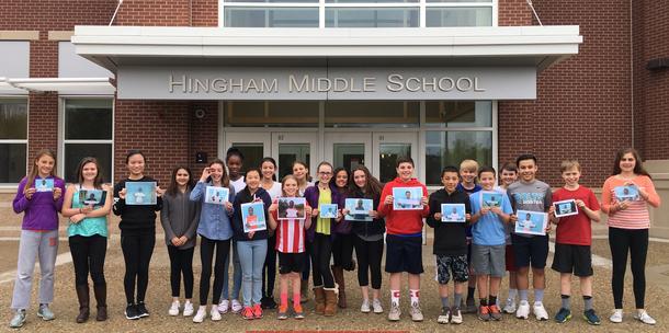 Support Hingham Middle School's Pen Pal Program in Uganda