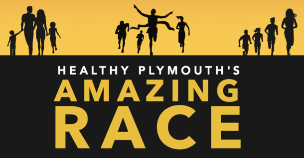 Support Team PCIS Falcons' Amazing Race for school & community garden programs in Plymouth!