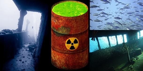 Monitoring, Mapping Ships Sunken with Hazardous Substances in the Mediterranean