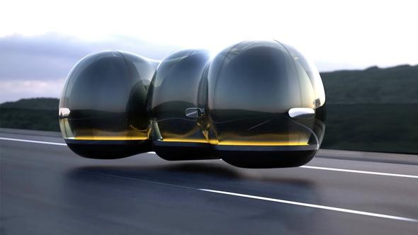 Selvkjørende biler taxier eller lokal flyvende transport