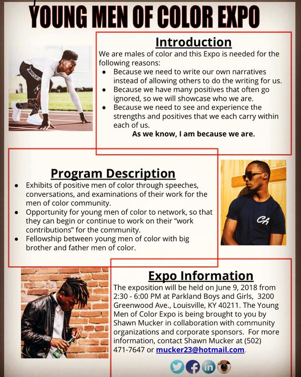 Young Men of Color Expo