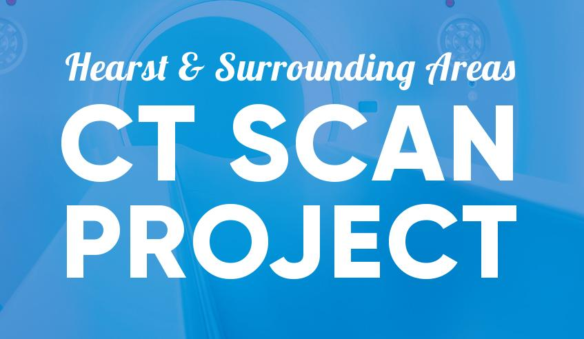 Hearst & Area CT Scan Project