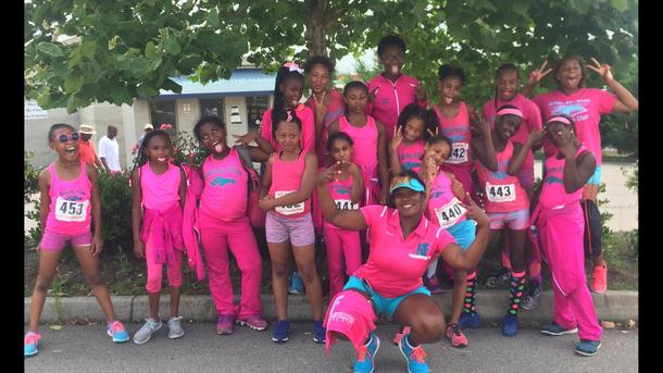 The Kentucky Fillies Elite Track Club is Jr. Olympics Bound!!!!!!