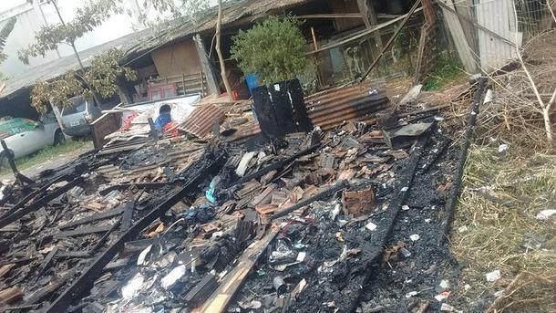 Reconstruir casa incendiada
