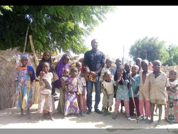 Warm clothing and blankets for orphans of Boko Haram insurgency