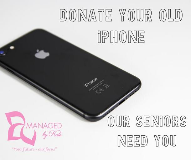'Donate Your Old Phone'- by Managed by Kate – Gunnedah