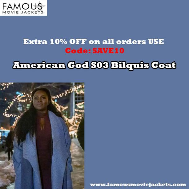 American God S03 Bilquis Coat