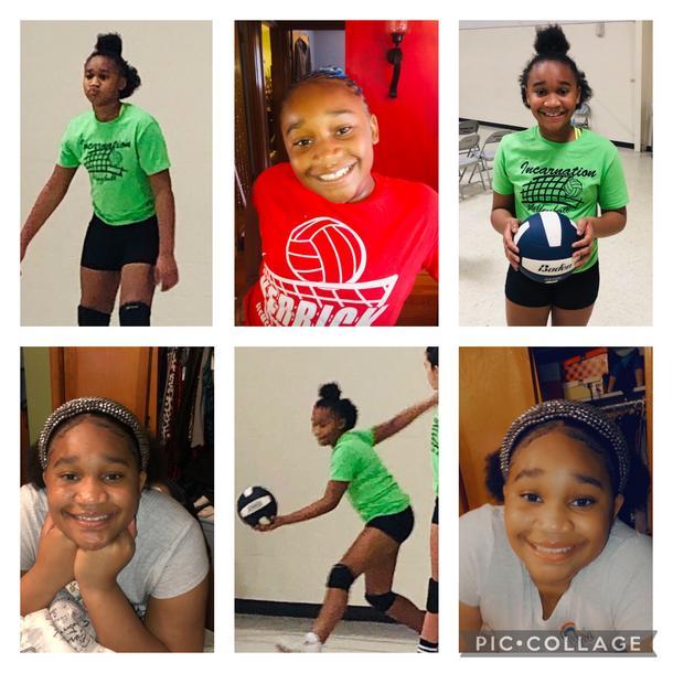 Deazja Loves Volleyball