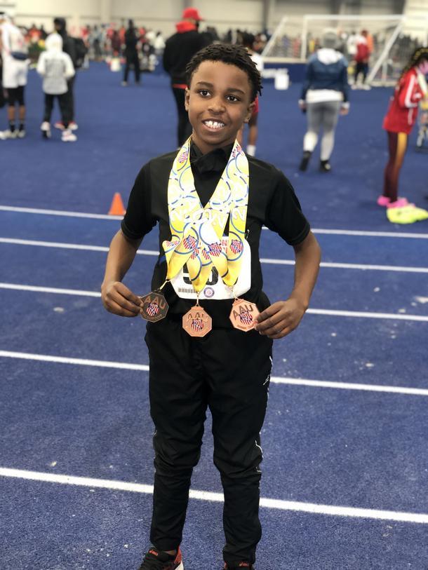 Braylen's Starting Blocks to Junior Olympics