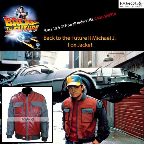 Back to the Future II Michael J. Fox Jacket