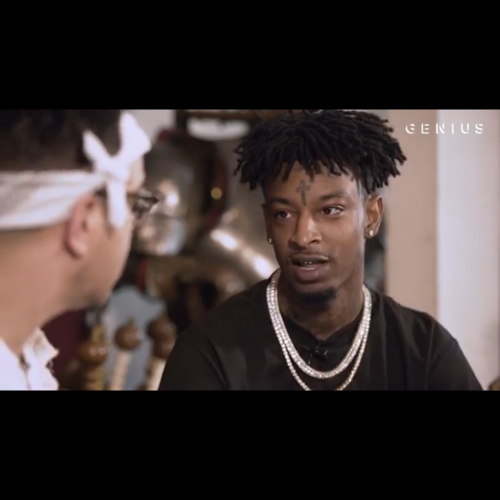"""21 Savage """"Makes a knife & Explains How Issa Came Together"""""""
