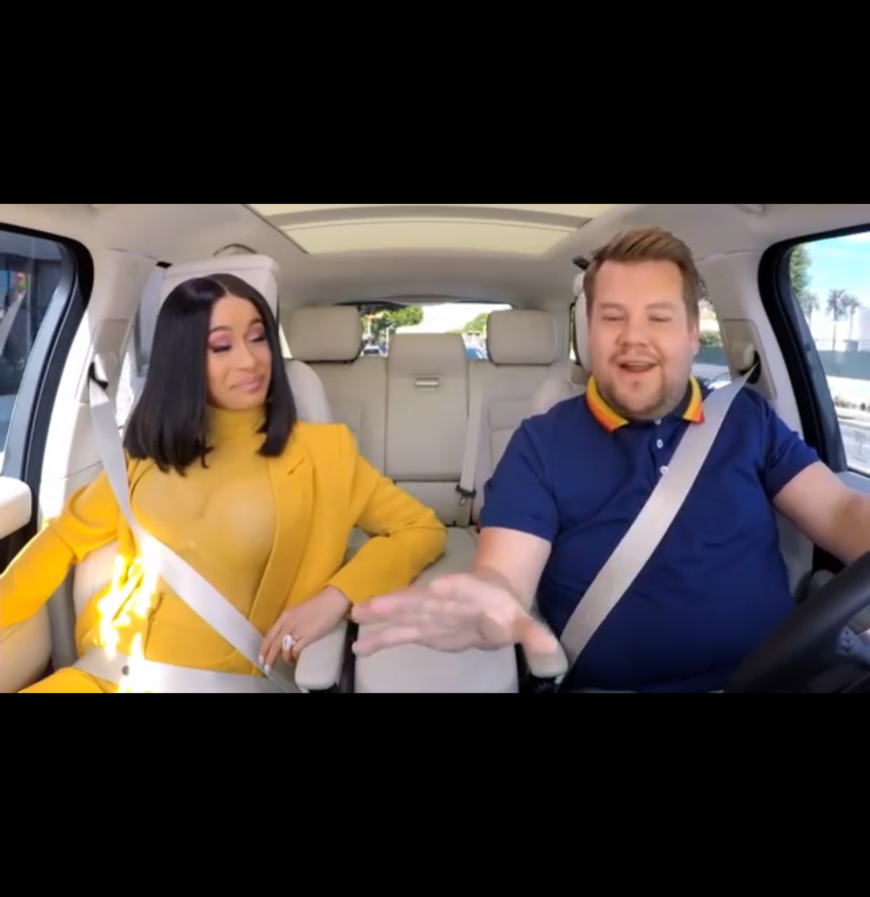 Cardi B Goes Carpooling With James Corden 8403 Media Videos