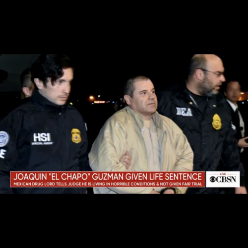 El Chapo sentenced to Life in prison plus 30 years