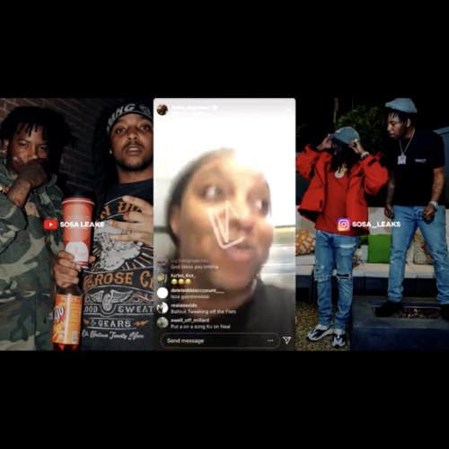 Tadoe go live with Ball Out cutting off his dreads and says Almighty Sosa 2 otw