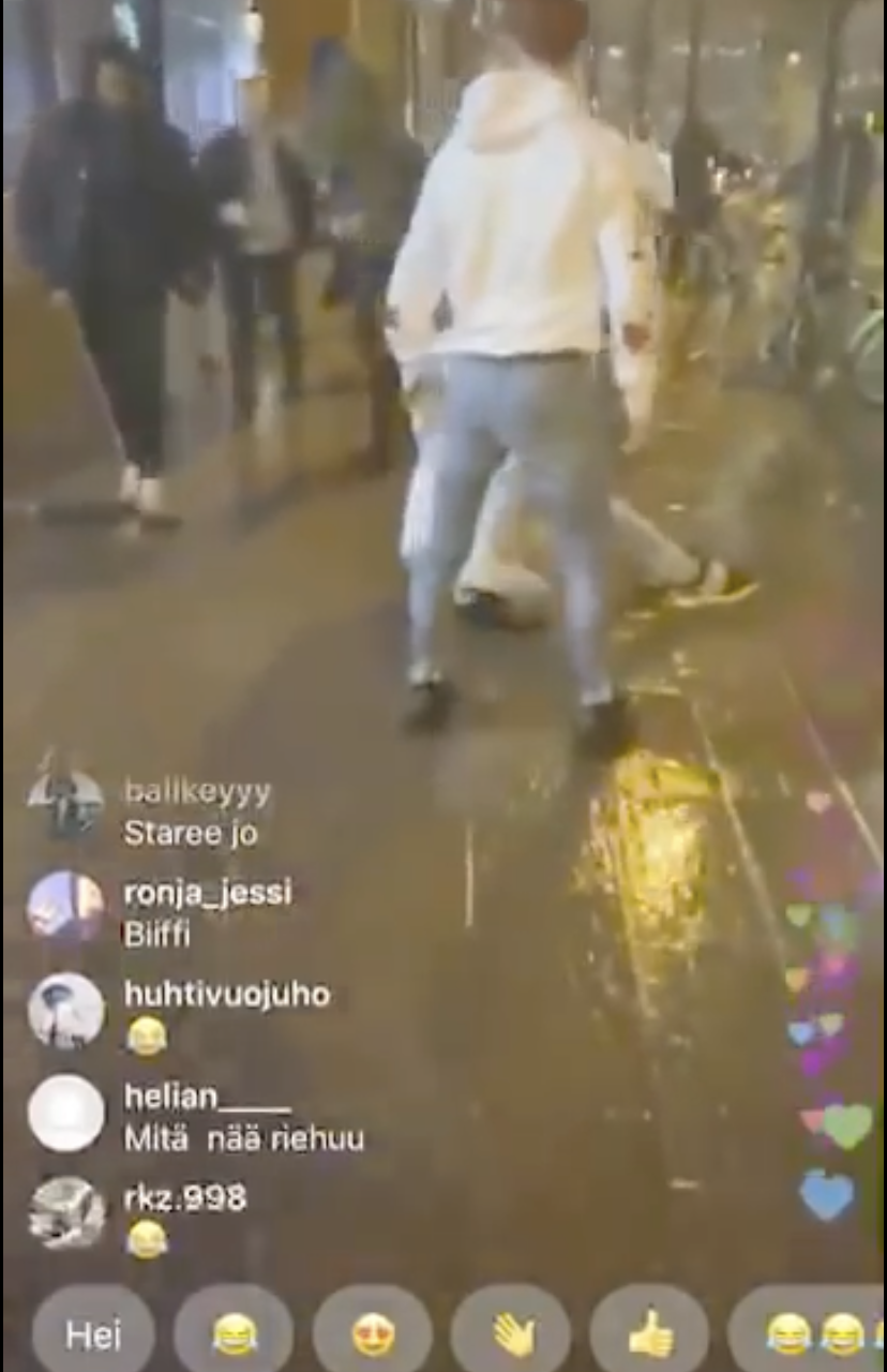 Rapper Lil Mosey gets jumped in Finland