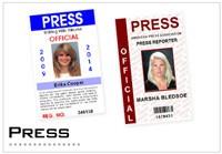Press ID Cards