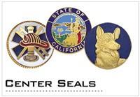 Badge Center Seals