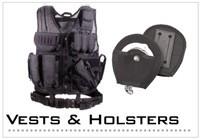 Vests, Holsters & Belts
