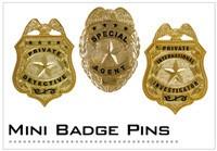 Mini Badge Pins