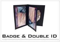 Badge & Double ID Cases