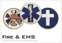 Fire Dept and EMS Seals