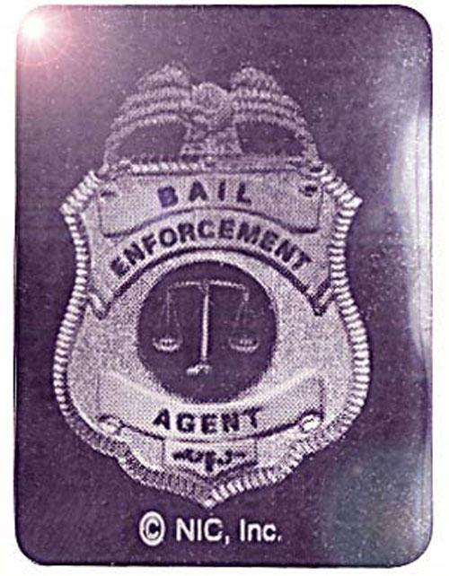Square Bail Enforcement - Foil Hologram 4-Pack
