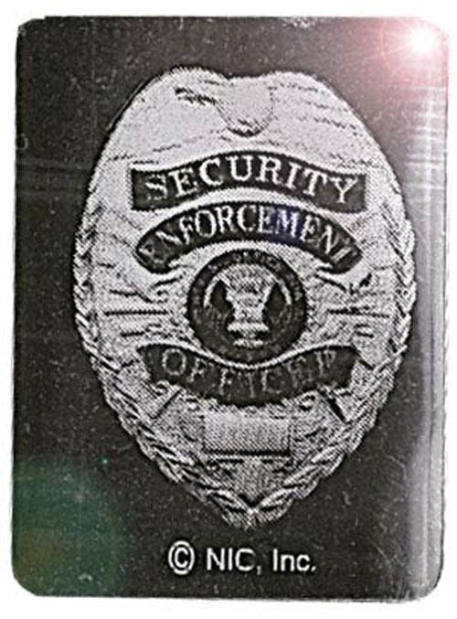 Square Security Foil Hologram