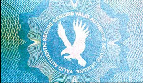 Holographic Overlay - Secure Eagle