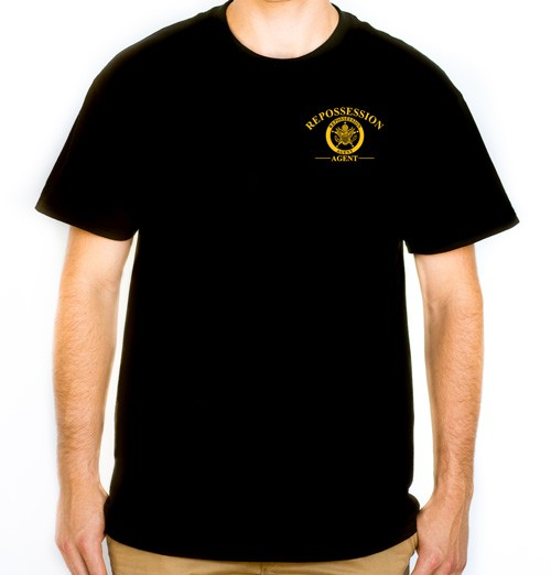 Repossession Agent T-Shirt (Gold) (front)
