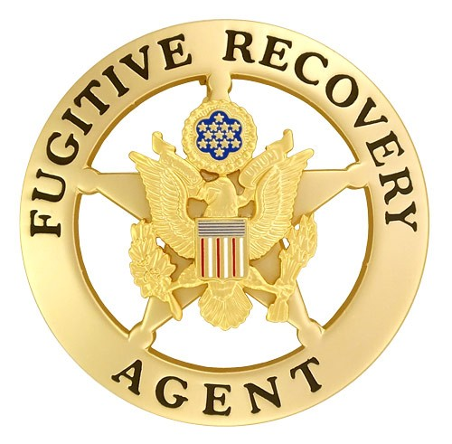 Marshal Style Fugitive Recovery Agent Badge