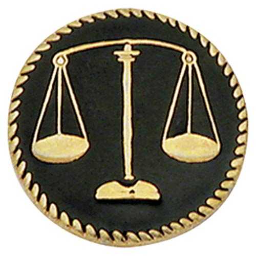 Scales Of Justice Center Seal