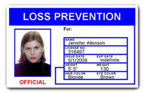Loss Prevention PVC ID Card