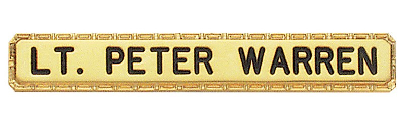 2 1/2 in. Smith & Warren Nameplate C511