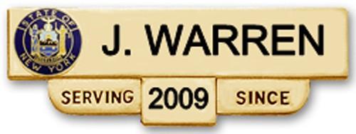 2 1/2 in. Smith & Warren Nameplate C600S